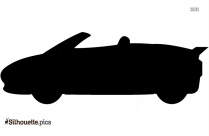 Cute Cartoon Car Clipart Silhouette