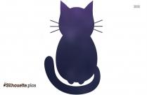 Alien Cat Illustration Silhouette