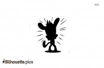 Cartoon Pug Silhouette