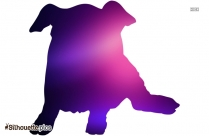 Cartoon Dog Logo Silhouette For Download Free