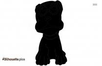 Poodle Dog Cartoon Silhouette Clip Art