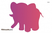 Elephant Images Cartoon Clipart Silhouette
