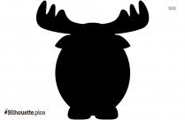 Cute Cartoon Elk Drawings Silhouette