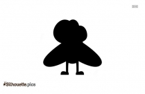 Cute Cartoon Flies Silhouette Picture