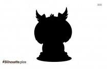 Cartoon Owl Silhouette Clip Art
