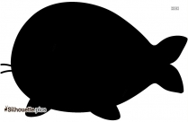Humpback Whale Silhouette Free Vector Art