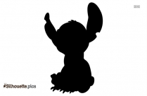 Stitch Cartoon Clipart Silhouette