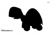 Angry Bull Cartoon Silhouette