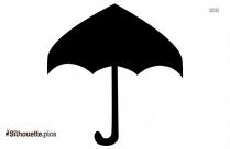 Umbrella Cartoon Silhouette