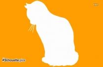 Halloween Cat Illustration Silhouette