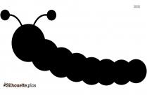 Cute Caterpillar Silhouette