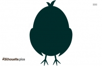 Chicken Silhouette Image, Vector