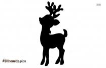 Christmas Reindeer Silhouette Free Vector Art