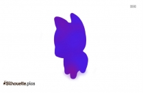 Teddy Bear Silhouette Clipart
