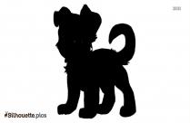 Running Dog Silhouette Free Vector Art