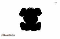 Puppy Silhouette Vector And Graphics