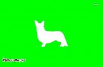 Cute Puppy Dog Clip Art Silhouette