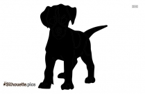 Cat And Dog Outline Silhouette Image