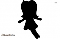 Gilr Doll Silhouette Image