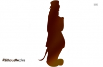 Cute Dog Clipart Silhouette