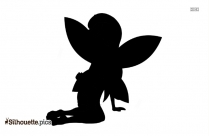 Tinkerbell Fairy Silhouette Clipart, Image