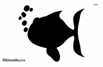 Cartoon Fish Silhouette Clip Art