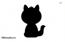 Cartoon Baby Fox Cartoon Silhouette