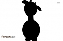 Giraffe Cartoon Silhouette