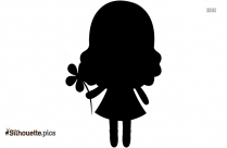 Circus Girl Silhouette Picture