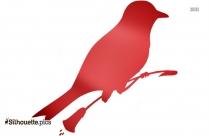 Black Pheasant Silhouette
