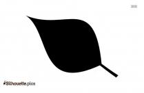 Plant Leaf Silhouette Image