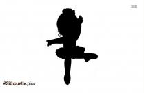 Ballet Dancer Silhouette Drawing Vector