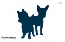 Australian Shepherd Dog Silhouette