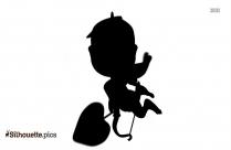 Evil Cupid Silhouette