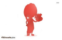 Girl Doll Silhouette Vector And Graphics