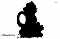 Cartoon Tiger Cub Silhouette Pic
