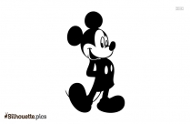Mickey Mouse Silhouette For Free