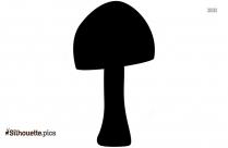 Mushroom Clipart Symbol Silhouette