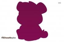 Cute Corgi Stuffed Animal Plush Toy Silhouette