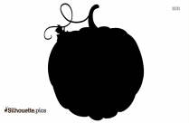Thanksgiving Pumpkin Silhouette Clipart