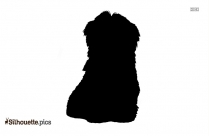 Cute Puppy Silhouette Clip Art