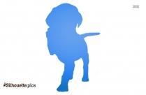 Boxer Dog Clipart || Pet Animal Silhouette