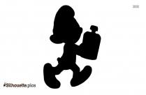 Smurf Cartoon Silhouette Art
