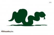 Snake Silhouette Art