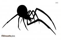 Cute Spider Silhouette Image