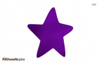 Cute Starfish Silhouette Image