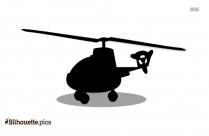 Airplane Silhouette Free Vector Art