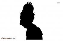 Krusty Silhouette Clip Art