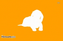 Dachshund Dog Silhouette, Vector
