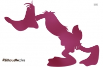 Daffy Duck Silhouette